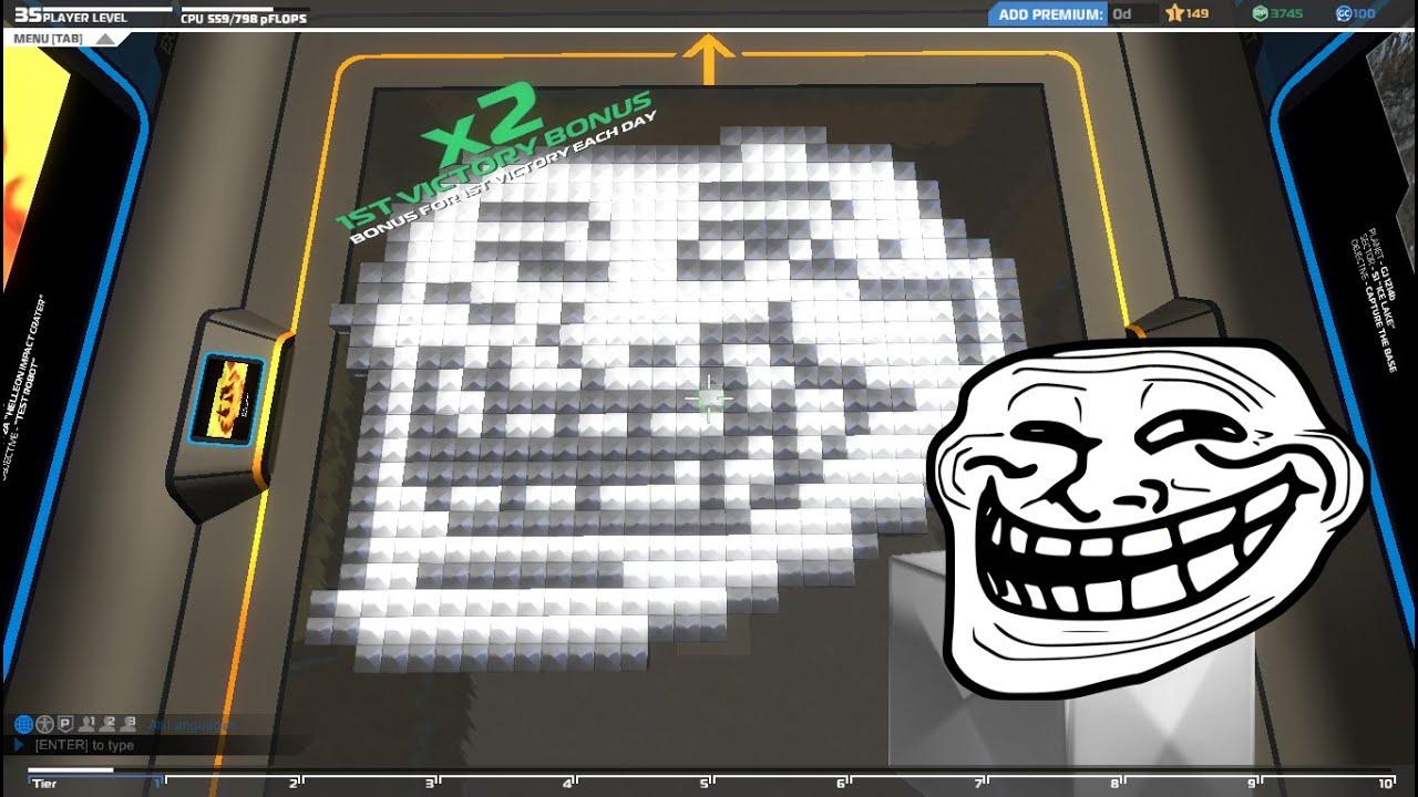 Robocraft - TrollfaceBot and SkrillexOnline - YouTube
