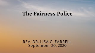The Fairness Police