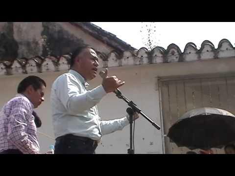 #VIDEO Carlos Sotelo en Santiago Tuxtla, Veracruz, domingo 23 de febrero de 2014.