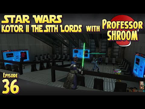 Star Wars Knights of the Old Republic 2 The Sith Lords - EP36 - Back to Citadel Station! |