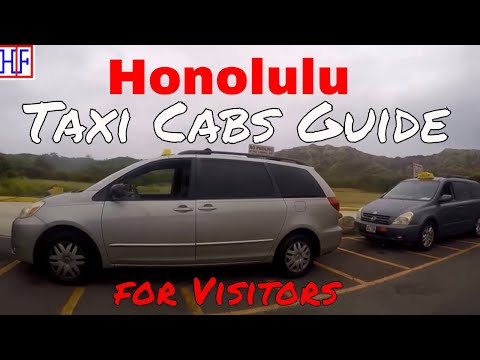 Honolulu | Taxi Cabs Guide - Getting Around | Travel Guide | Episode# 3