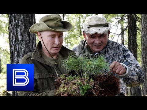 EXCLUSIVE VIDEO! Vladimir Putin Celebrates 67th Birthday in Heart of Russian Siberia!