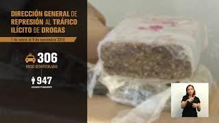 Ministerio del Interior desarticuló 306 bocas de drogas en lo que va del año
