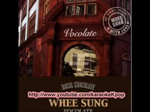 Wheesung - Trickling (주르륵) [MR] (Karaoke)