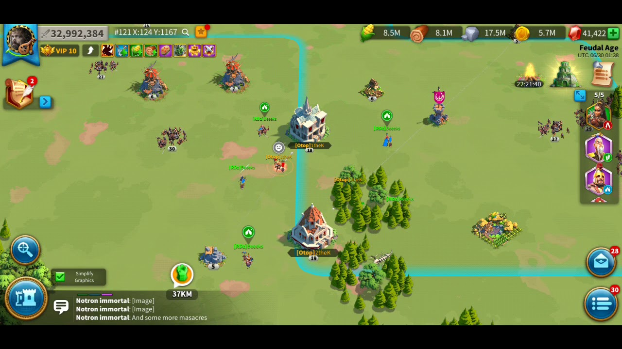 Rise of Kingdoms New Patch Thoughts and Bot Murdering