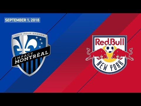 HIGHLIGHTS: Montreal Impact vs. New York Red Bulls | September 1, 2018