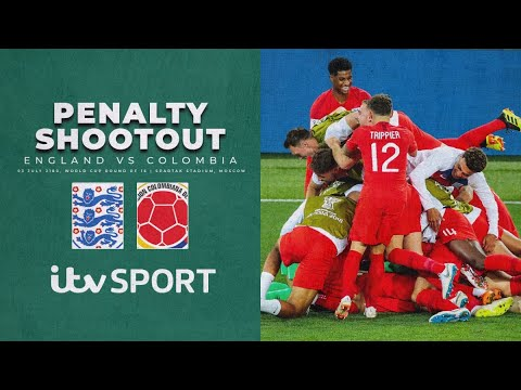 ???????????????????????????????????? ENGLAND v COLOMBIA SHOOTOUT IN FULL   FIFA World Cup 2018   ITV Sport