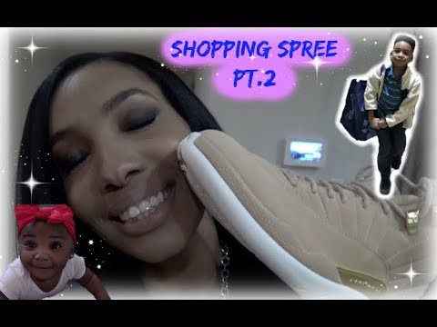 Shopping Spree pt.2 + lady goes crazy over happy baby | VLOG
