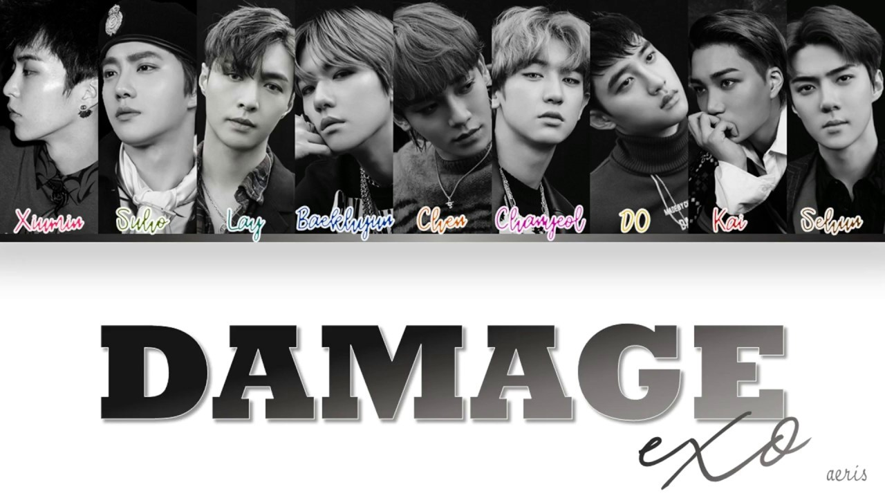 Exo - 엑소 DAMAGE DONT MESS UP MY TEMPO - The 5th Album