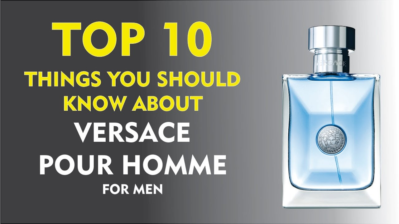 4ac8c3aa8e60 Top 10 Fragrance Facts  Versace Pour Homme - YouTube