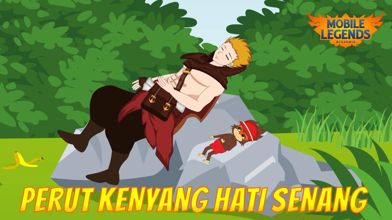 MOBILE LEGENDS ANIMATION | PERUT KENYANG HATI SENANG | MOBILE LEGENDS ACADEMIA