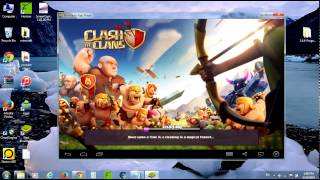 how to play clash of clans on windows 7 or 8 and install others apps