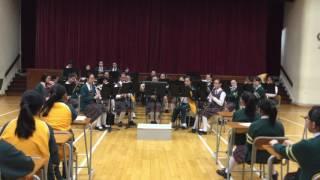 德蘭中學2016 13 Band performance t