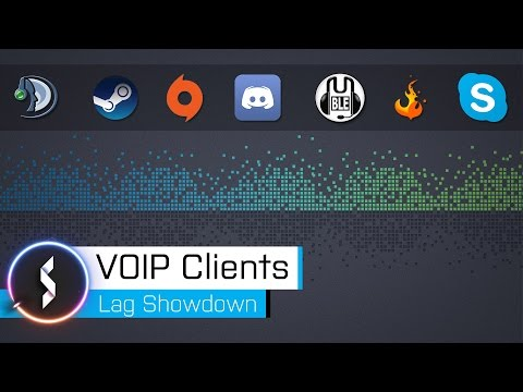VOIP Clients Lag Showdown
