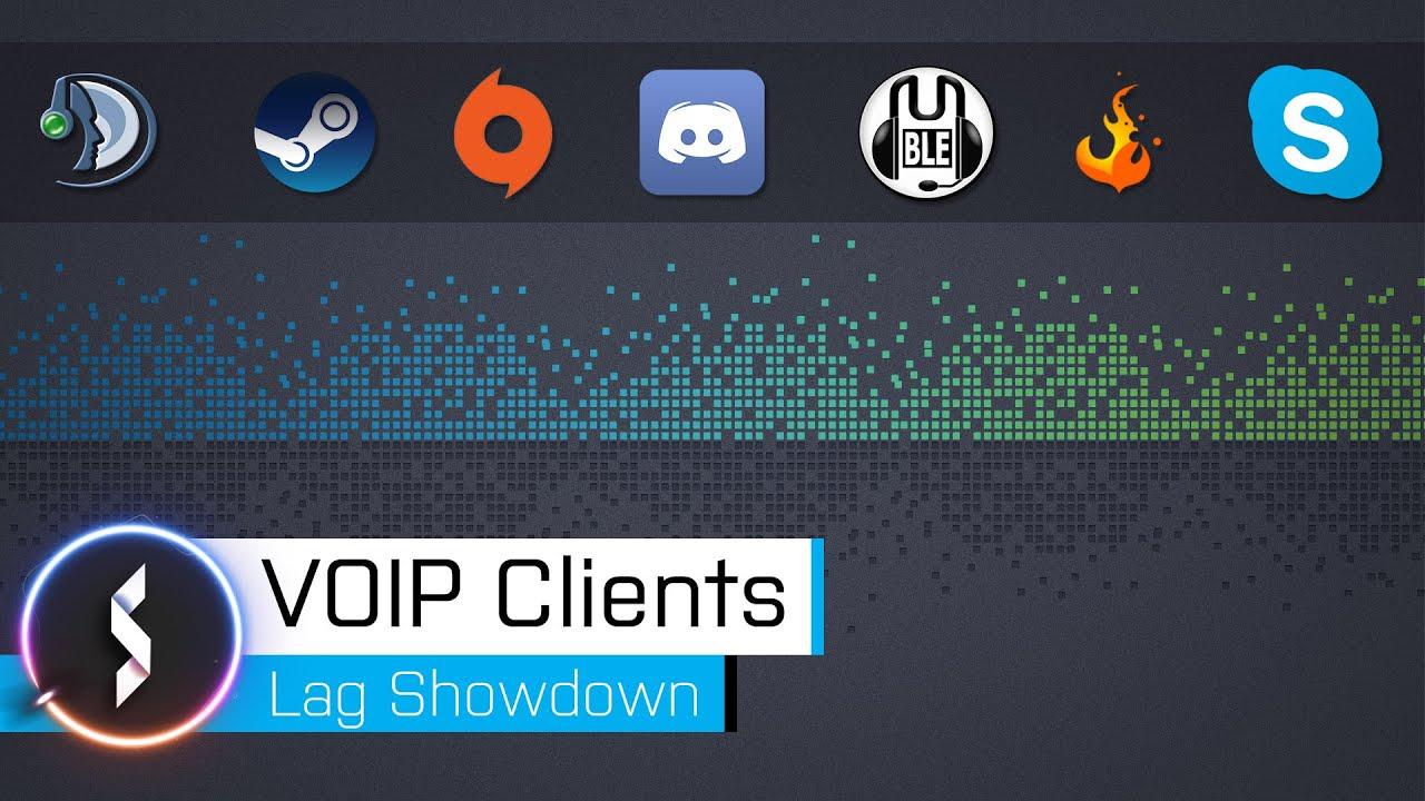 VOIP Clients Lag Showdown