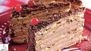 Лучшие рецепты тортов.Торт Микадо