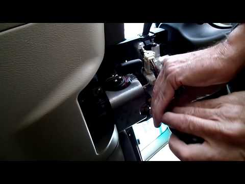Subaru Outback Multifunction Switch Removal