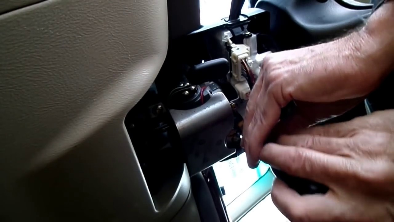 subaru outback multifunction switch removal [ 1280 x 720 Pixel ]
