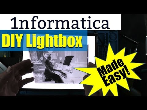 DIY Lightbox For Old Glass Negatives - Photography Project Tutorial