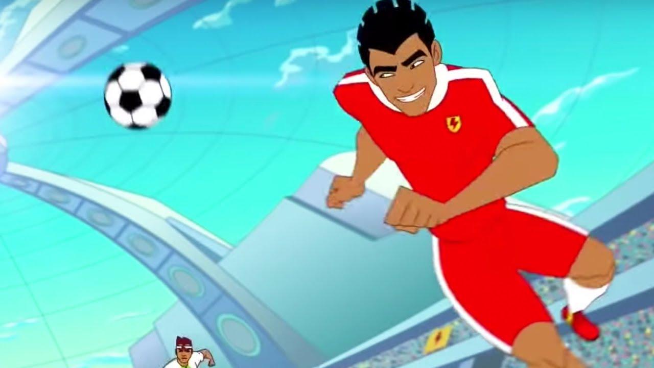 Supa Strikas Best Tricks Skills Kids Cartoon Youtube