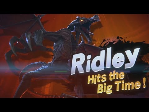 Ridley Joining the Roster in Super Smash Bros. Ultimate! (E3 2018)
