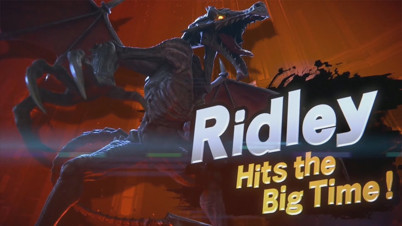 Image result for smash reveal ridley