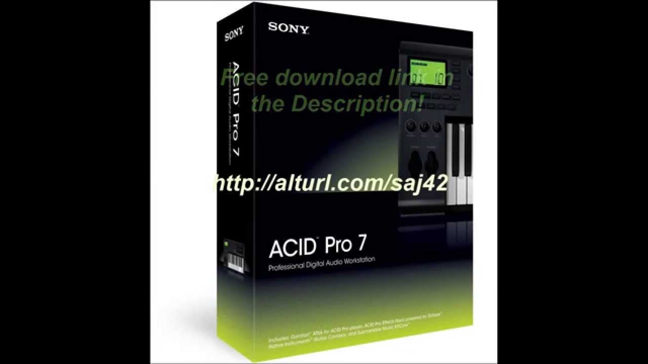Acid pro 7 free download pc