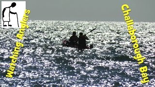 Watching Anglers fishing in Challaborough Bay