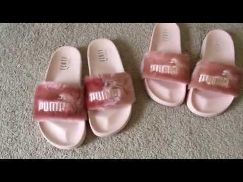 Rihanna Puma Fenty Slides REAL vs FAKE
