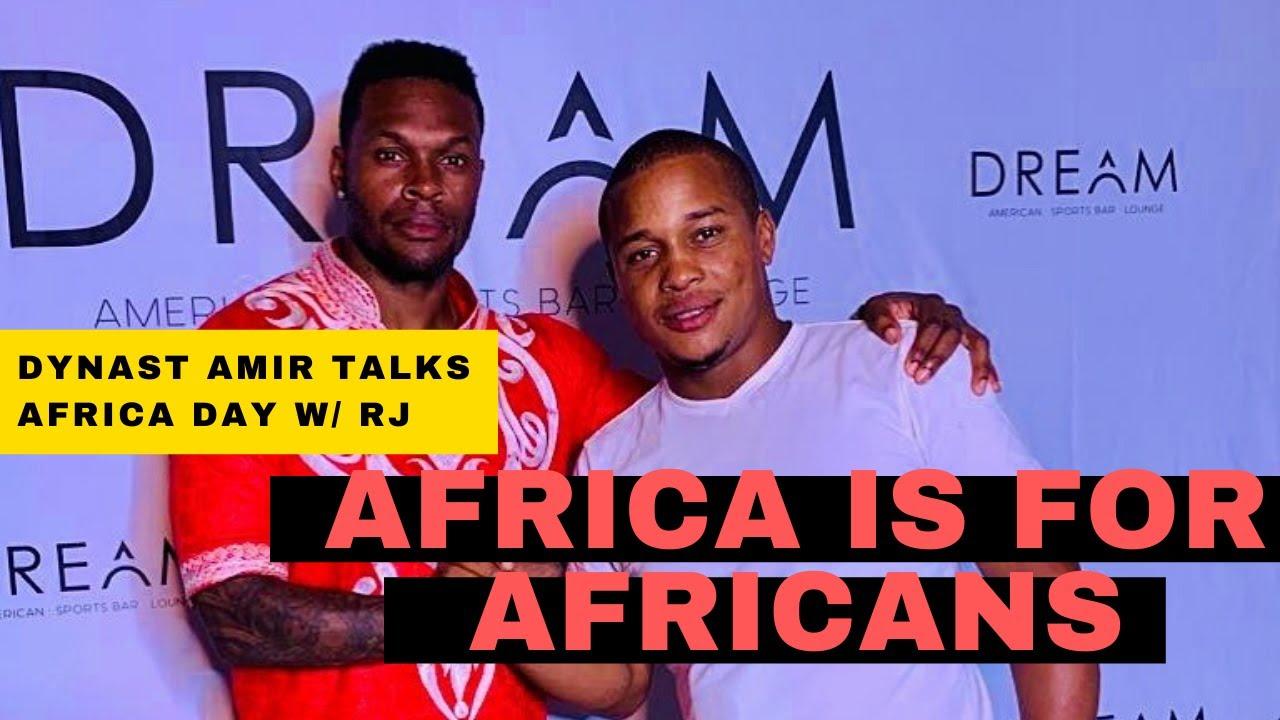 DYNAST AMIR JOINS RJ MAHDI IN DAKAR #AfricaIsForAfricans