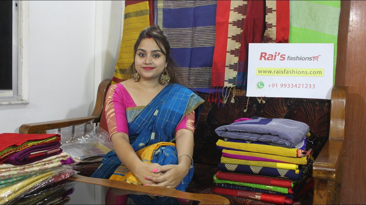 Handloom Saree Collections From Rai S Fashions Youtube
