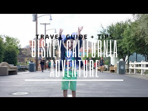 Disneyland California Adventure Travel Guide + Tips | ThesTORIbook TV