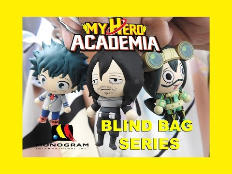 MY HERO ACADEMIA 3D Foam Key Ring Blind Bag Collection