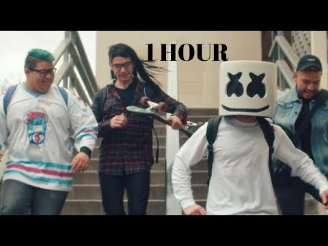 Marshmello Moving On 1 hour (Offical Music Video)