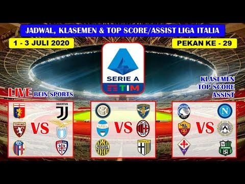 Jadwal Lengkap Liga Italia Pekan Ke 29 Nanti Malam ~ Genoa VS Juventus Liga Italia Serie A 2020