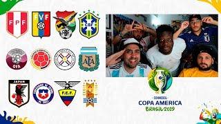 ADIVINA la SELECCIÓN de la COPA AMÉRICA 2019 con la ÉLITE