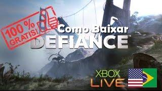 Como baixar DEFIANCE [Free-to-Play] para xbox 360