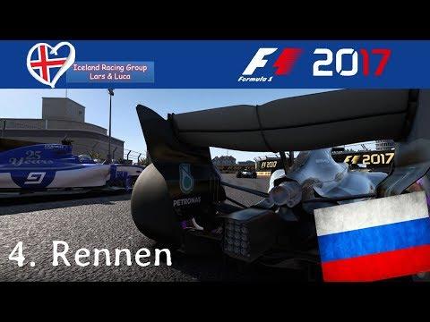 F1 2017 - Iceland-Racing-Group - Liga - 4. Rennen - Russland