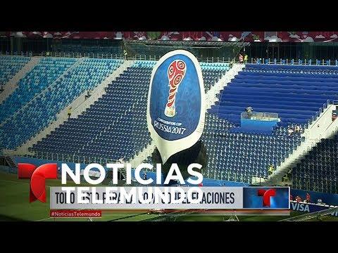 Todo Listo Para La Copa FIFA Confederaciones 2017   Noticiero   Noticias Telemundo