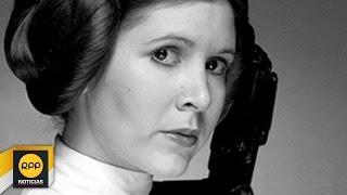 "Fallece actriz Carrie Fisher ""La princesa Leia"" de Star Wars│RPP"