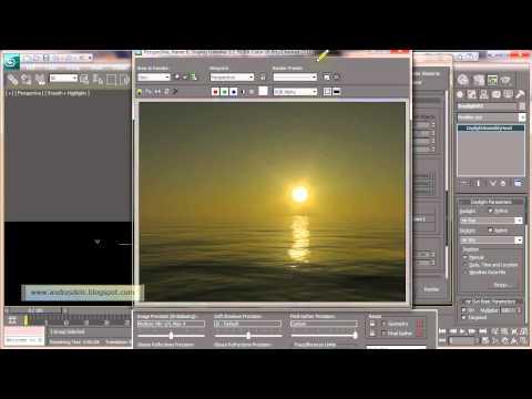 3ds max   mental ray   sun and sky   ocean shader   HD 720p