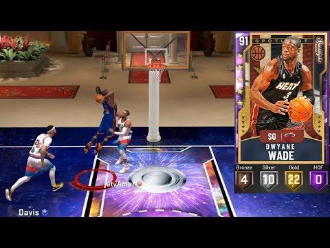 NBA 2K20 MyTeam Amethyst Dwyane Wade Gameplay Triple Threat Online