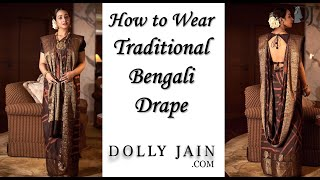 How to wear a traditional Beng…