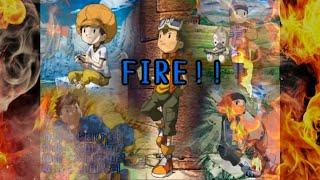 【歌詞付】FIRE!! 和田光司【デジモンフロンティアOP】 thumbnail