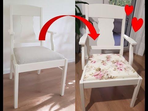 Diy Stuhlkissen Inkl Schnittmuster Nahen Ikea Ingatorp