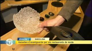 TV3 - Els Matins - Vaixelles exclusives per als restaurants de moda