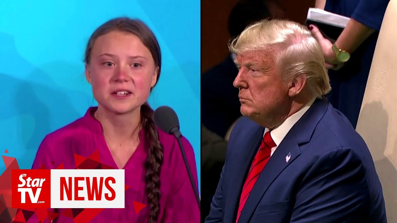 Trump Mocks Greta Thunberg on Twitter, and She Jabs BackTrump ...