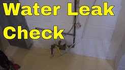 How To Check For A Water Leak In Your House-EASIEST Method