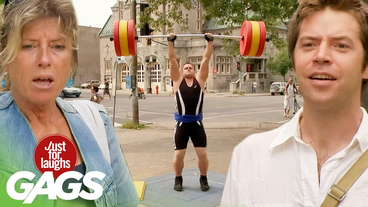 Best of Fitness Pranks | Just For Laughs Compilation