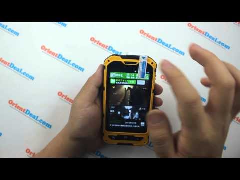 A8 IP68 3G Smartphone MTK6572W Dual-core----Full Hands on and unboxing